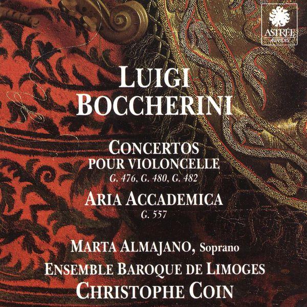 Marta Almajano - Boccherini: Concertos pour violoncelle & Aria accademica
