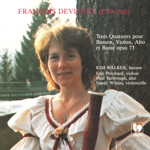 François Devienne - François Devienne: Three Quartets for Bassoon, Violin, Viola and Bass, Op. 73