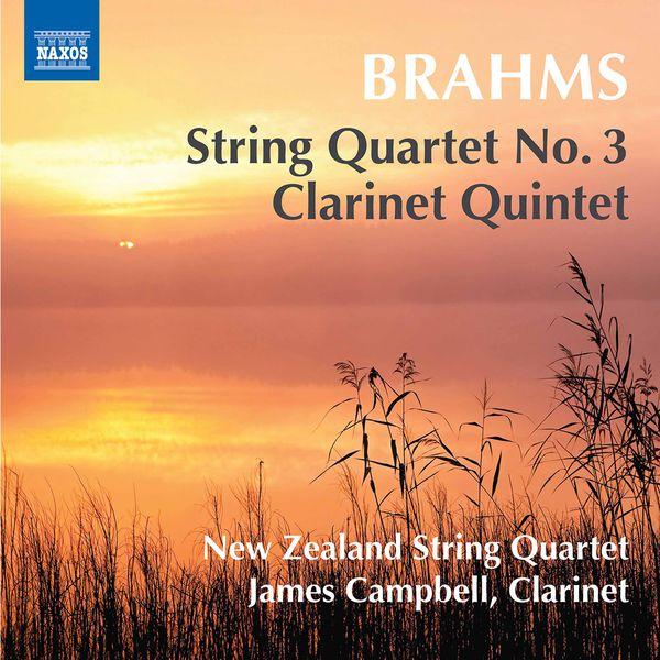 New Zealand String Quartet - Brahms: String Quartet No. 3, Op. 67 & Clarinet Quintet, Op. 115