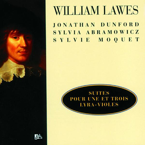 Jonathan Dunford - Lawes: Suites Pour 1 Et 3 Lyra Violes