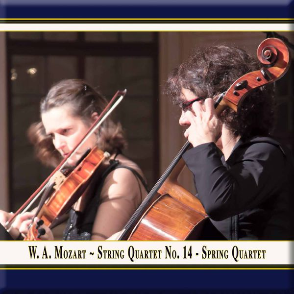 "Rubin Quartett - Mozart: String Quartet No. 14 in G Major, Op. 10 No. 1, K. 387 ""Spring"" (Live)"