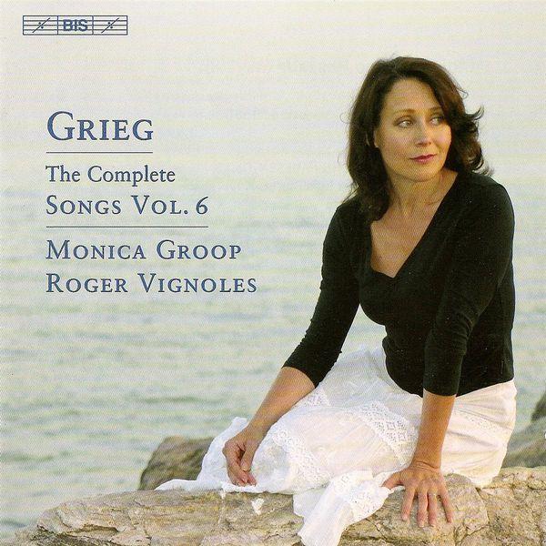 Monica Groop - GRIEG, E.: Songs (Complete), Vol. 6 (Groop)