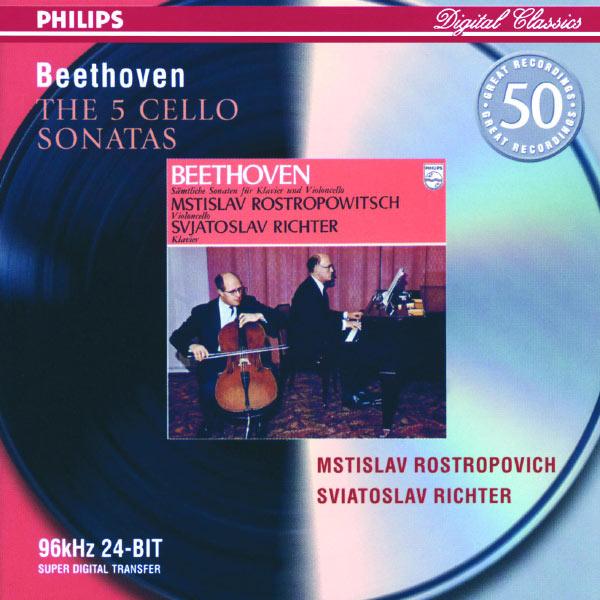 Mstislav Rostropovich - Beethoven: The Cello Sonatas