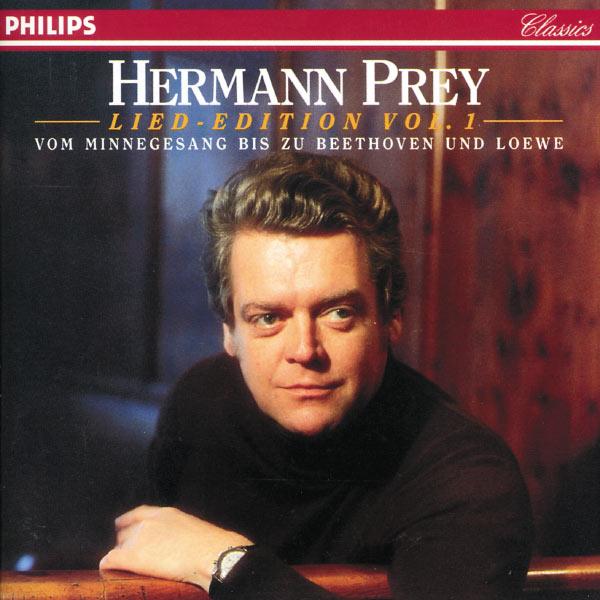 Hermann Prey - Vom Minnegesang bis zu Beethoven und Loewe - Lied-Edition Vol. 1