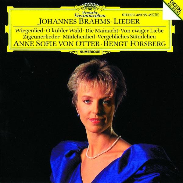 Anne Sofie von Otter - Brahms: Lieder
