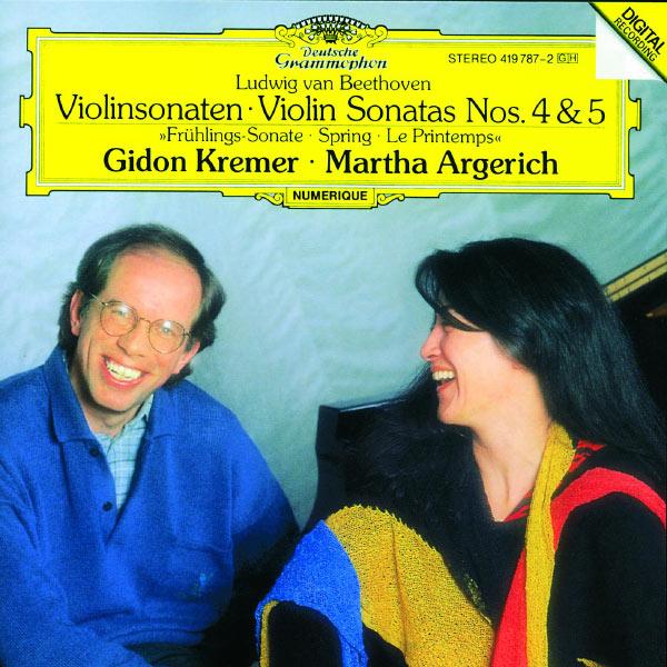 """Gidon Kremer - Beethoven: Violin Sonatas Nos.4 & 5 """"Spring"""""""