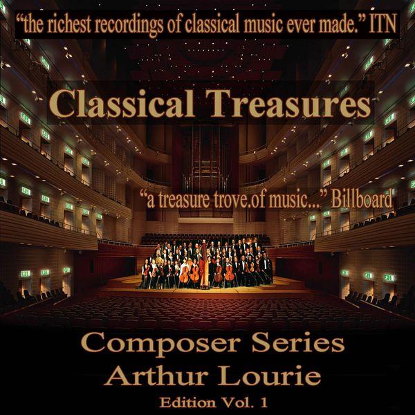 Various Artists - Classical Treasures Composer Series:  Arthur Lourie Edition, Vol. 1 (EP)