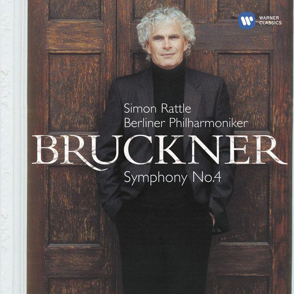 Sir Simon Rattle - Bruckner: Symphony No. 4, 'Romantic' (Édition StudioMasters)