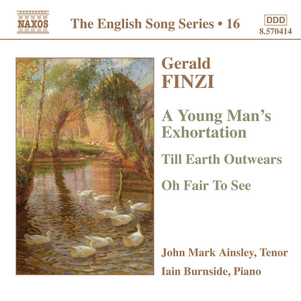 John Mark Ainsley - The English Song Series, volume 16