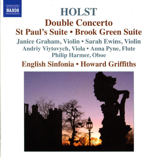 English Sinfonia - Double Concerto - St Paul's Suite