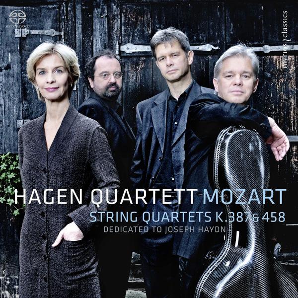 Hagen Quartett - Mozart : String Quartets K. 387 & K. 458 (5.1 Edition)