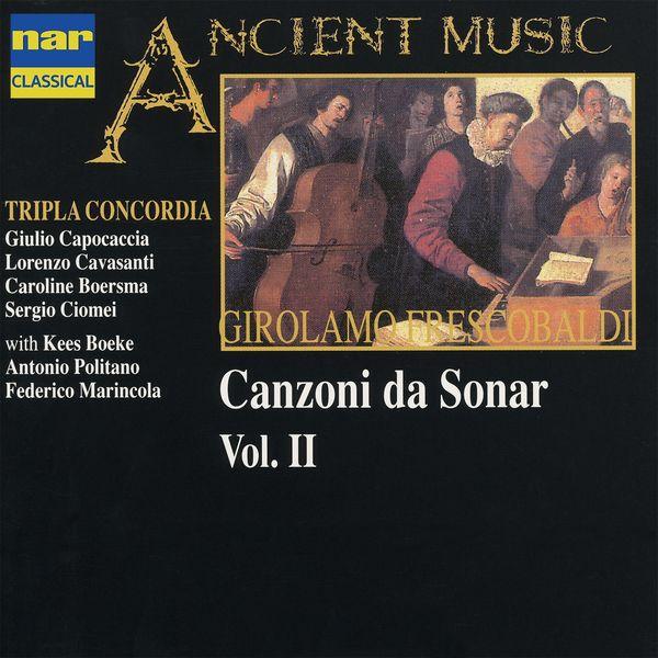 Kees Boeke - Frescobaldi: Canzoni da sonar, Vol. 2