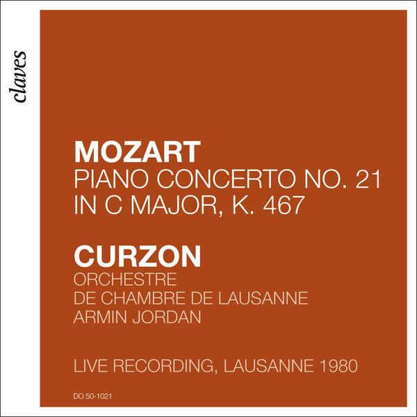 """Clifford Curzon - Mozart: Piano Concerto No. 21 in C Major, K. 467 """"Elvira Madigan"""" (Live in Lausanne 1980)"""