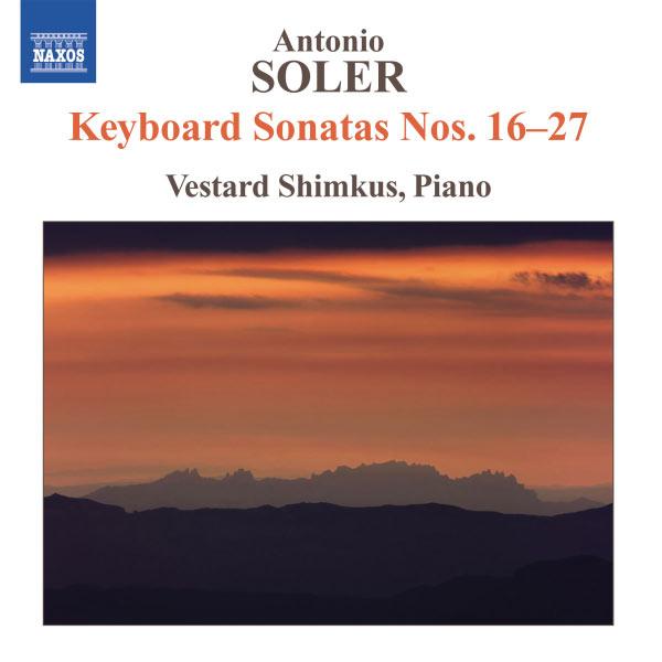 Vestard Shimkus - Sonates pour clavier n°16 à n°27