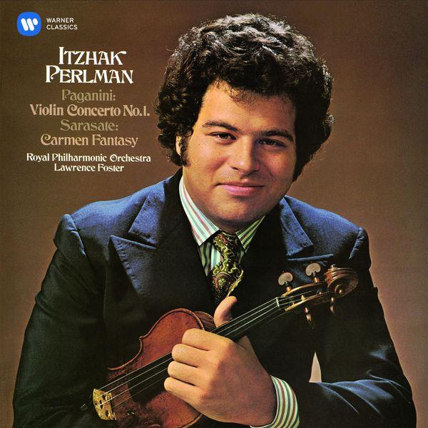 Itzhak Perlman - Paganini: Violin Concerto No. 1 - Sarasate: Carmen Fantasy