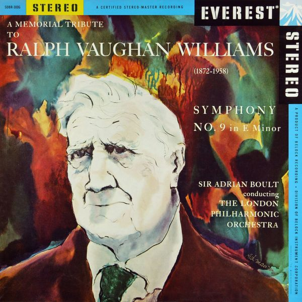 London Philharmonic Orchestra - A Memorial Tribute to Ralph Vaughan Williams: Symphony No. 9 (Transferred from the Original Everest Records Master Tapes)
