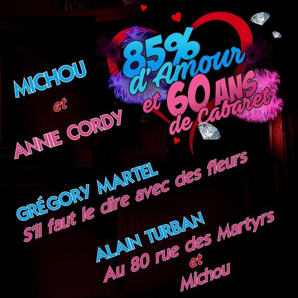 Various Artists - 85% d'amour et 60 ans de cabaret