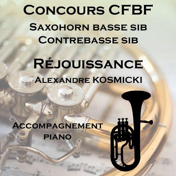 Nicolas Varin - Réjouissance pour saxhorn