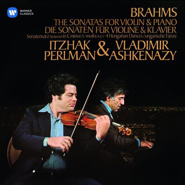Itzhak Perlman - Brahms: Violin Sonatas Nos 1 - 3 & 4 Hungarian Dances
