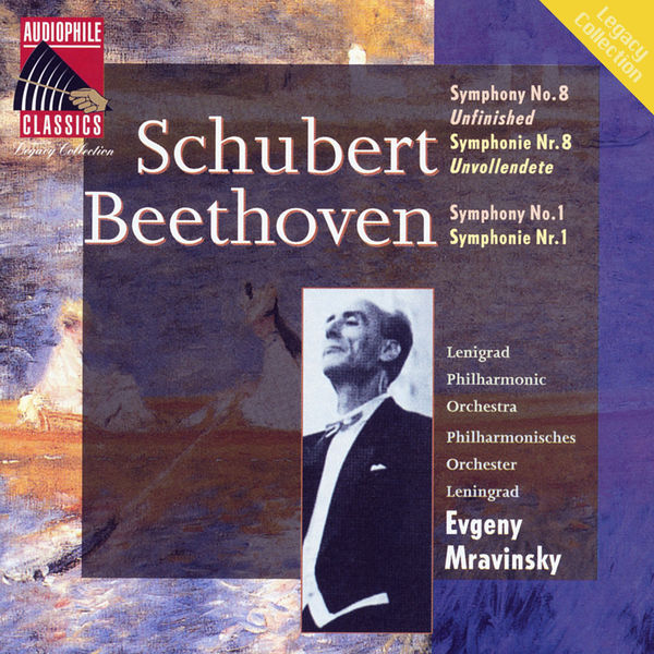 "Evgeny Mravinsky - Schubert : Symphony No.8 ""Unfinished"" - Beethoven : Symphony No.1"