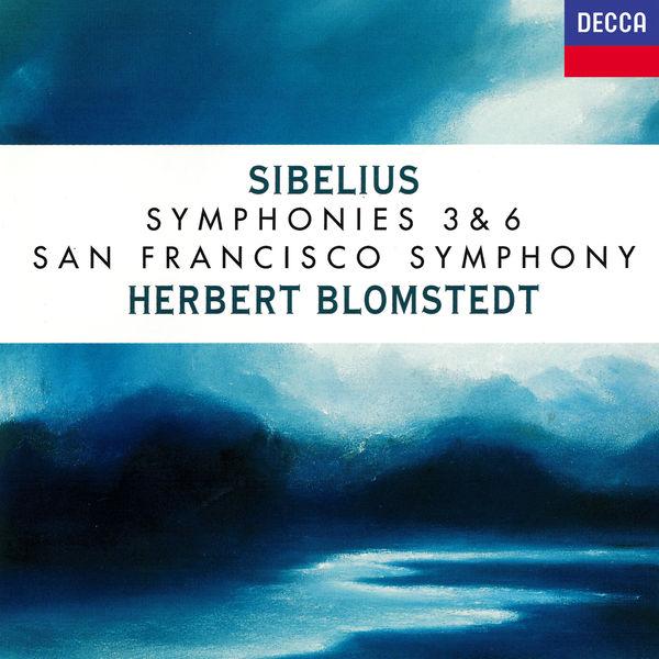 Herbert Blomstedt - Sibelius: Symphonies Nos. 3 & 6