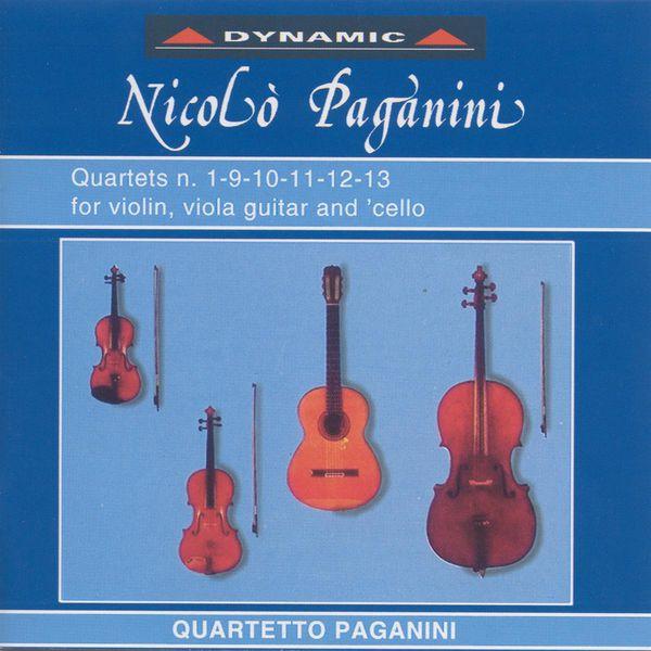 Paganini Quartet - Paganini, N.: The 15 Quartets for Strings and Guitar, Vol. 1