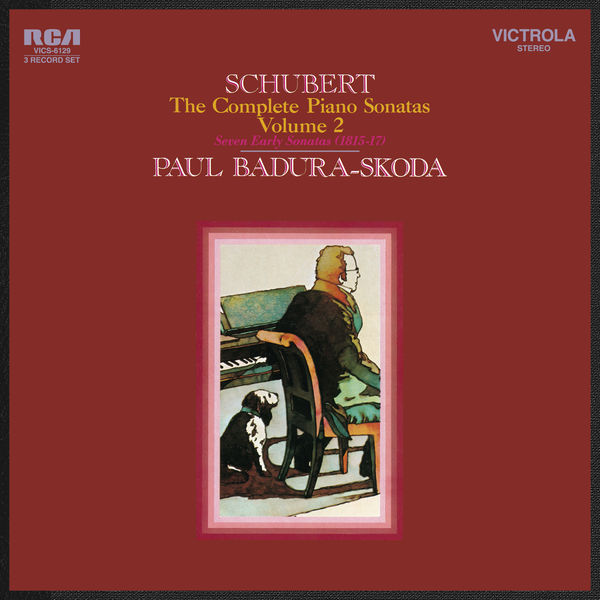 Paul Badura-Skoda - Schubert: Seven Early Sonatas (1815-1817)