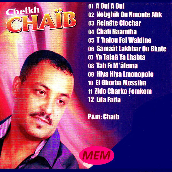 CHEIKH CHAIB MUSIC TÉLÉCHARGER