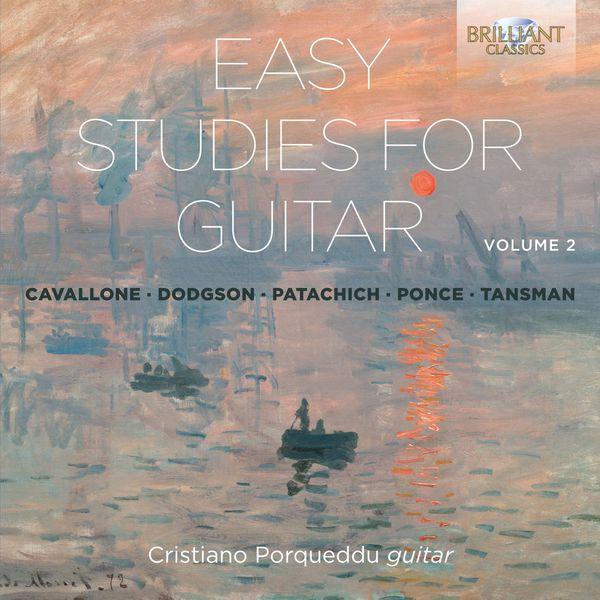 Cristiano Porqueddu - Easy Studies for Guitar, Vol. 2