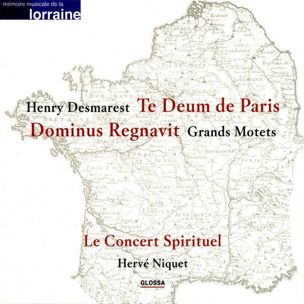 Hervé Niquet - Desmarets, H.: Dominus Regnavit / Te Deum