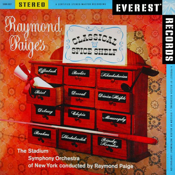 Stadium Symphony Orchestra Of New York - Raymond Paige's Classical Spice Shelf