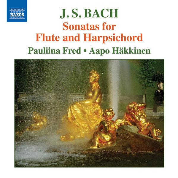 Pauliina Fred - Bach: Sonatas for Flute & Harpsichord