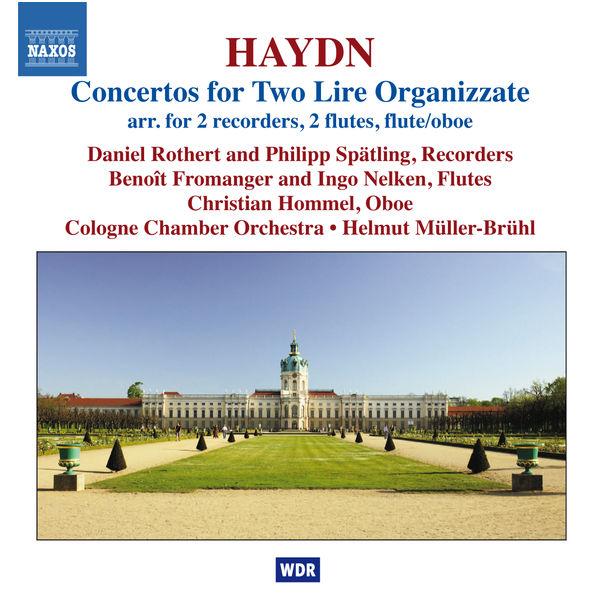 Daniel Rothert - Concertos pour 2 vielles à roue organisées et orchestre