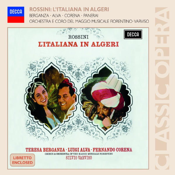 Silvio Varviso - Rossini : L'Italiana in Algeri