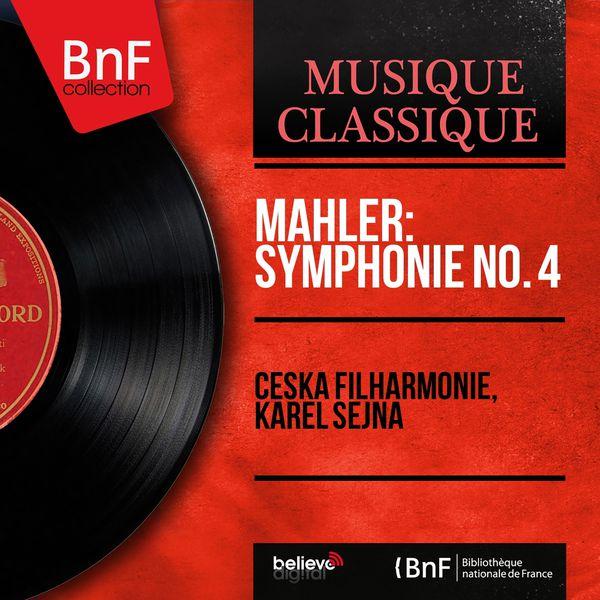 Česká filharmonie - Mahler: Symphonie No. 4 (Mono Version)