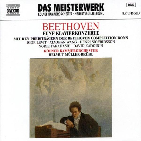 Igor Levit - Beethoven: Piano Concertos Nos. 1-5