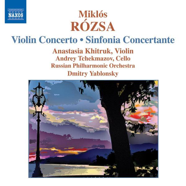 Dimitri Yablonsky - ROZSA: Violin Concerto / Sinfonia Concertante