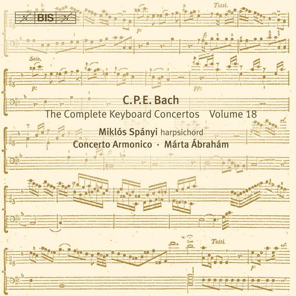 Miklos Spanyi - Bach: Complete Keyboard Concertos, Vol. 18