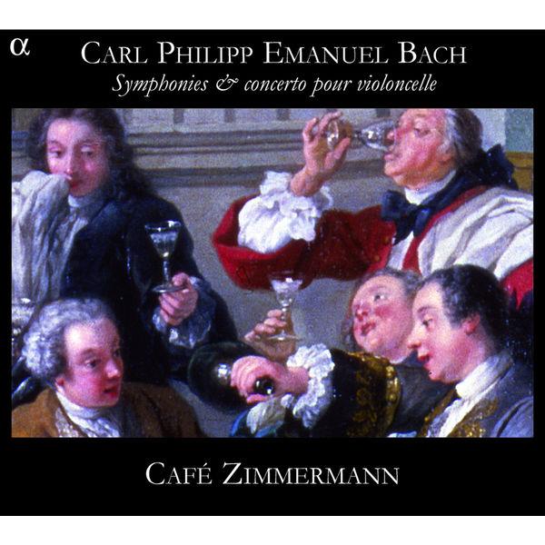 Café Zimmermann - Symphonies & Concerto pour violoncelle