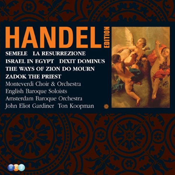 Various Interprets - Handel Edition Volume 5 - Semele, Israel in Egypt, Dixit Dominus, Zadok the Priest, La Resurrezione, The Ways of Zion do Mourn