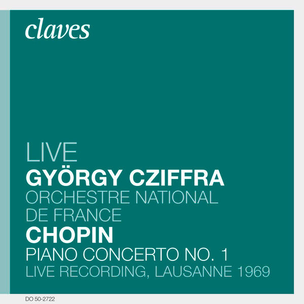 Gyorgy Cziffra - Chopin: Piano Concerto No. 1, Op. 11 (Live Recording, Lausanne 1969)