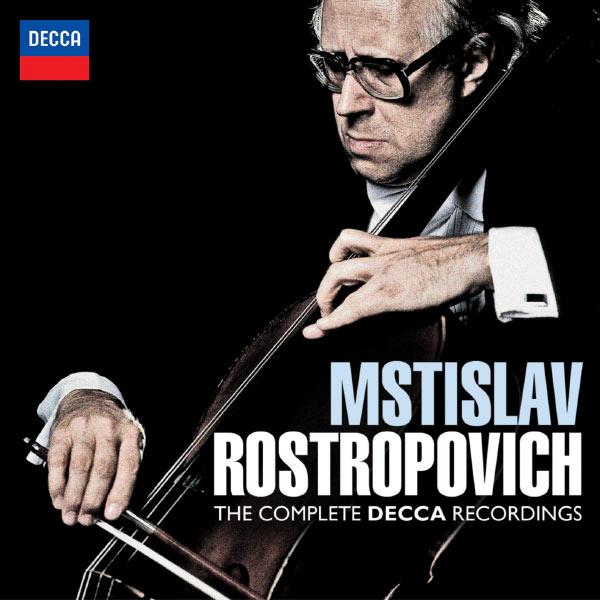 Mstislav Rostropovich - Mstislav Rostropovich : The Complete Decca Recordings (Intégrale des enregistrements Decca)