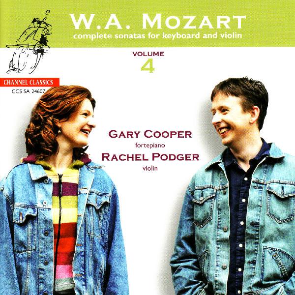 Rachel Podger - Mozart: Complete Sonatas for Keyboard and Violin, Vol. 4