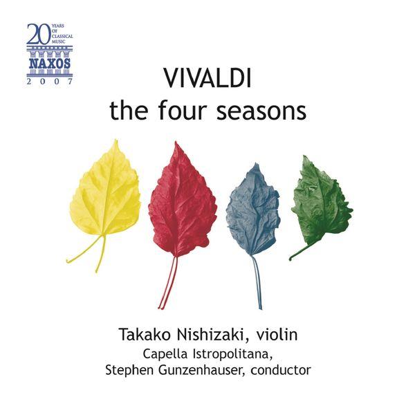 Takako Nishizaki - VIVALDI, A.: 4 Seasons (The) / Concerto alla Rustica (Nishizaki, Gunzenhauser)