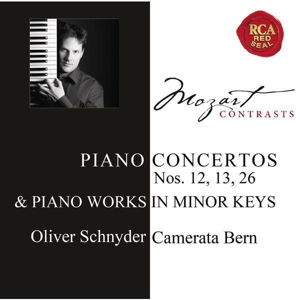 Oliver Schnyder - Mozart: Piano Concertos Nos. 12, 13, 26 & Works for Solo Piano