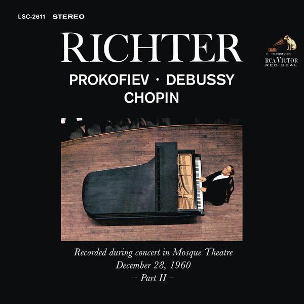 Sviatoslav Richter - Sviatoslav Richter Plays Prokofiev, Debussy and Chopin - Live at Mosque Theatre (December 28, 1960)