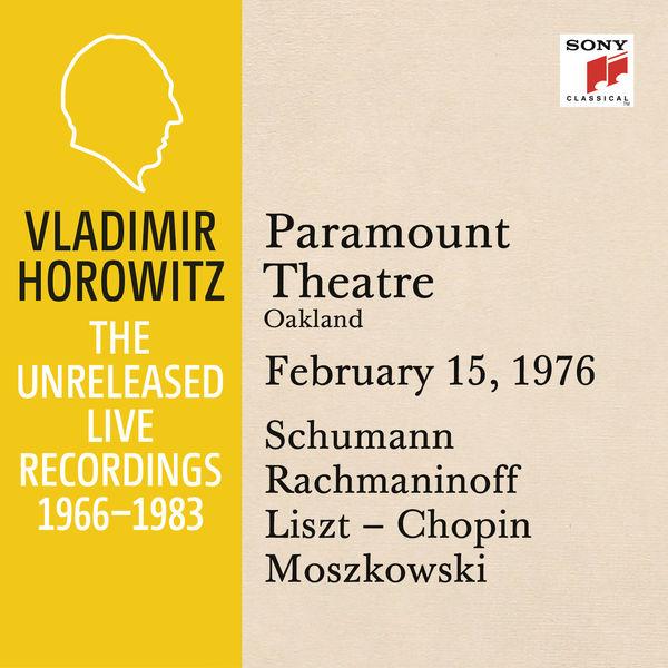 Vladimir Horowitz - Vladimir Horowitz in Recital at Paramount Theatre, Oakland, February 15, 1976