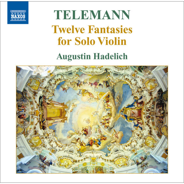 Augustin Hadelich - 12 Fantaisies pour violon seul