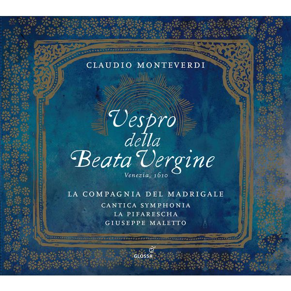 La Compagnia del Madrigale - Monteverdi: Vespro della Beata Vergine