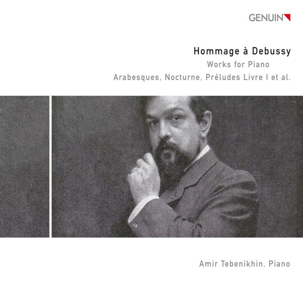 Amir Tebenikhin - Hommage à Debussy: Works for Piano CD 2